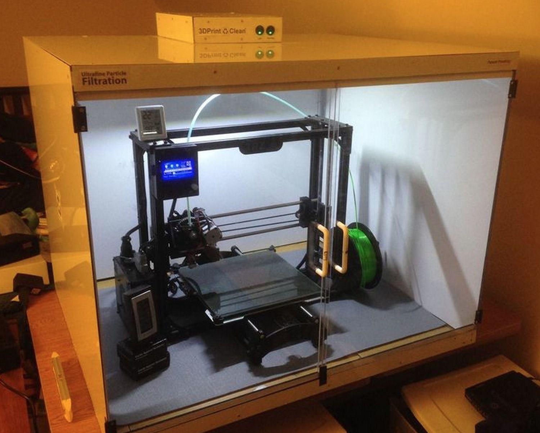 Finally A 3d Printer Filter Accessory Fabbaloo 3d Printer Filter 3d Printing 3d Printer Enclosure