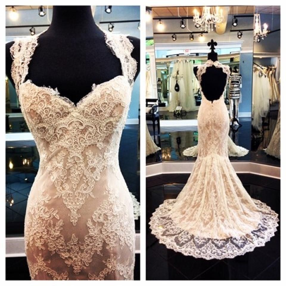Ivory And Cafe Lace 953 Sexy Wedding Dress
