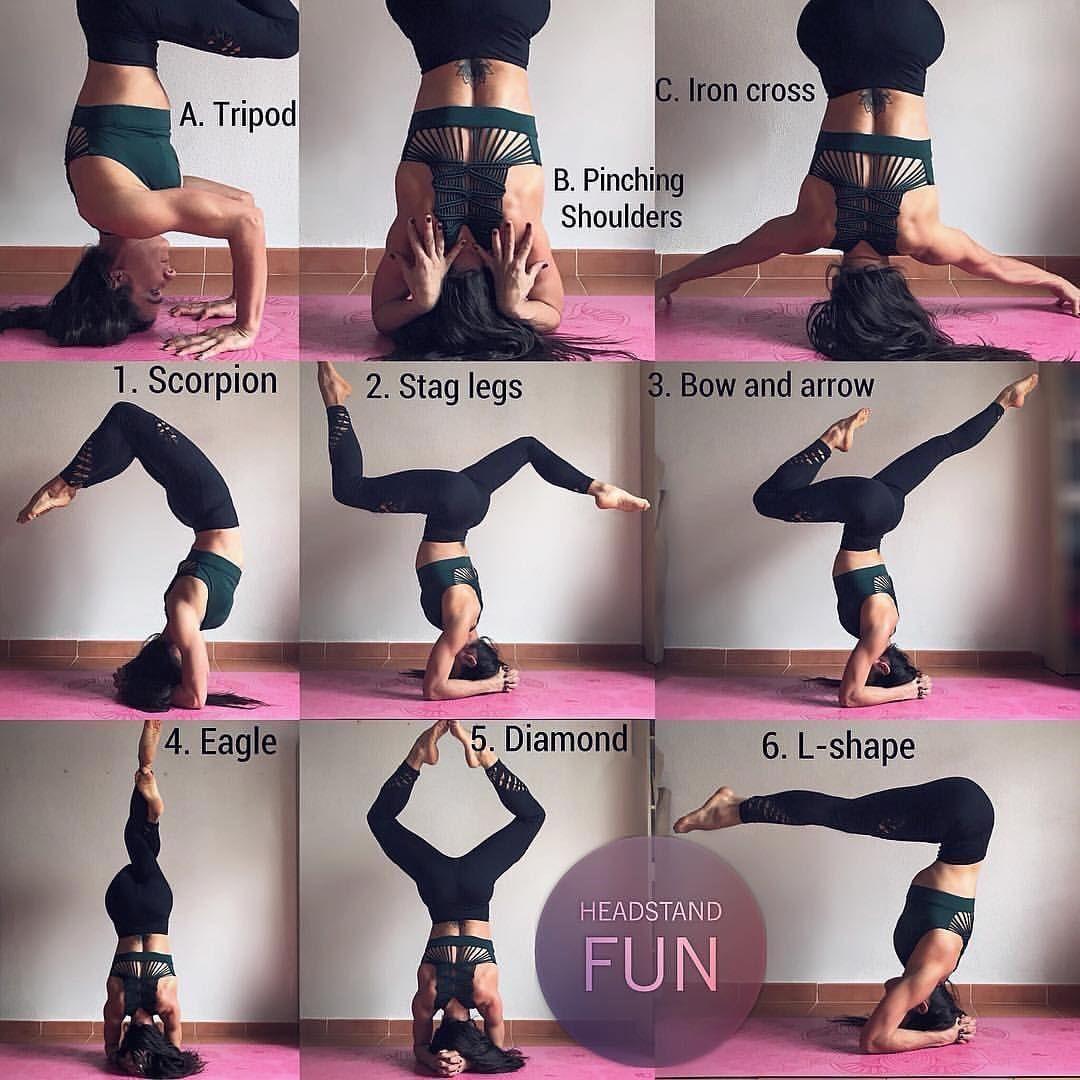 Advanced Headstand Yoga
