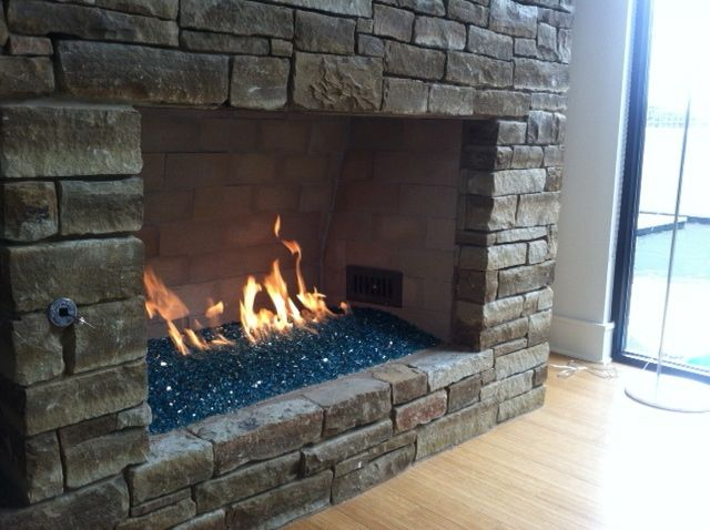 Vented Fire Glass Balls And Stones Churchill S Fireplace