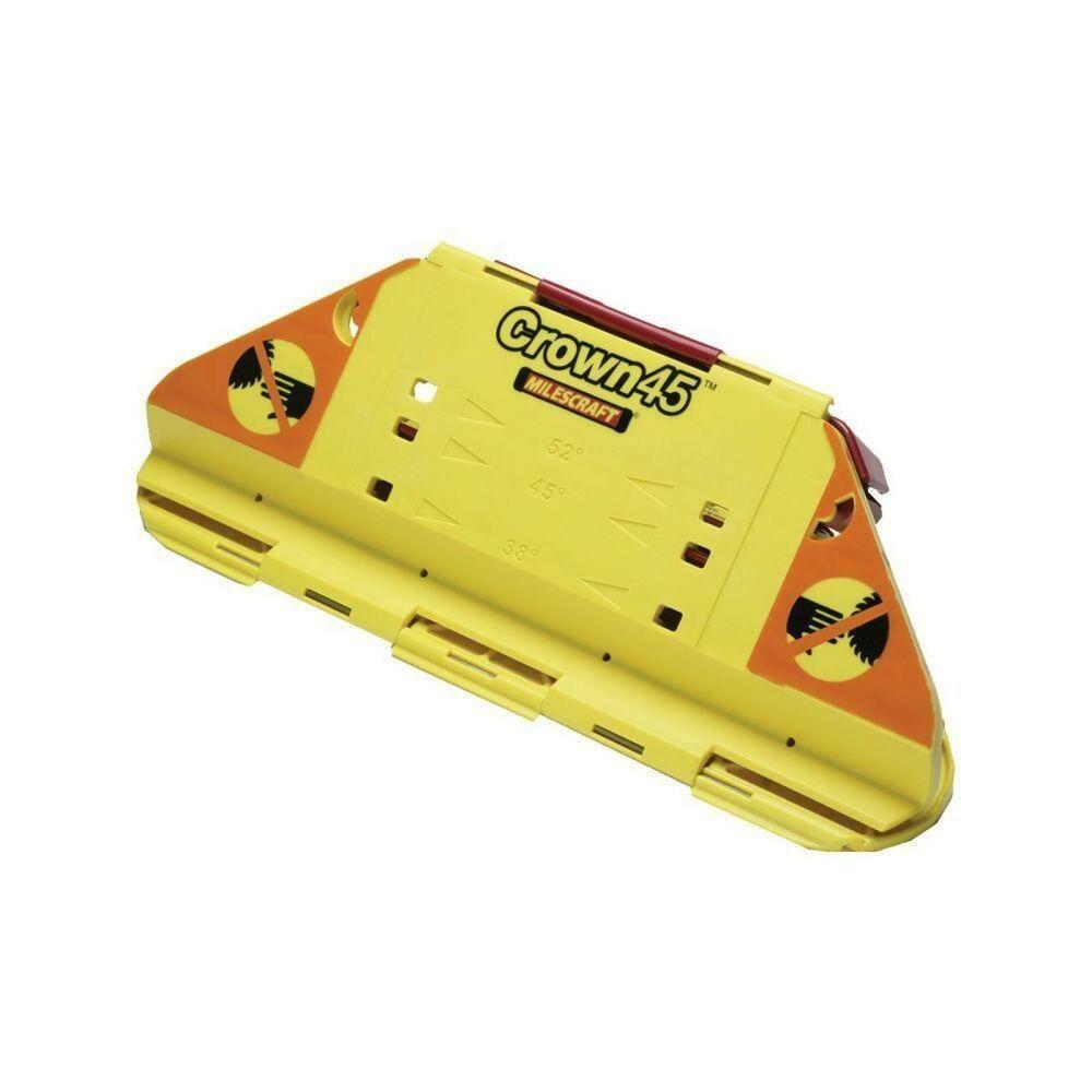 Milescraft crown molding kit jig miter saw adjustable