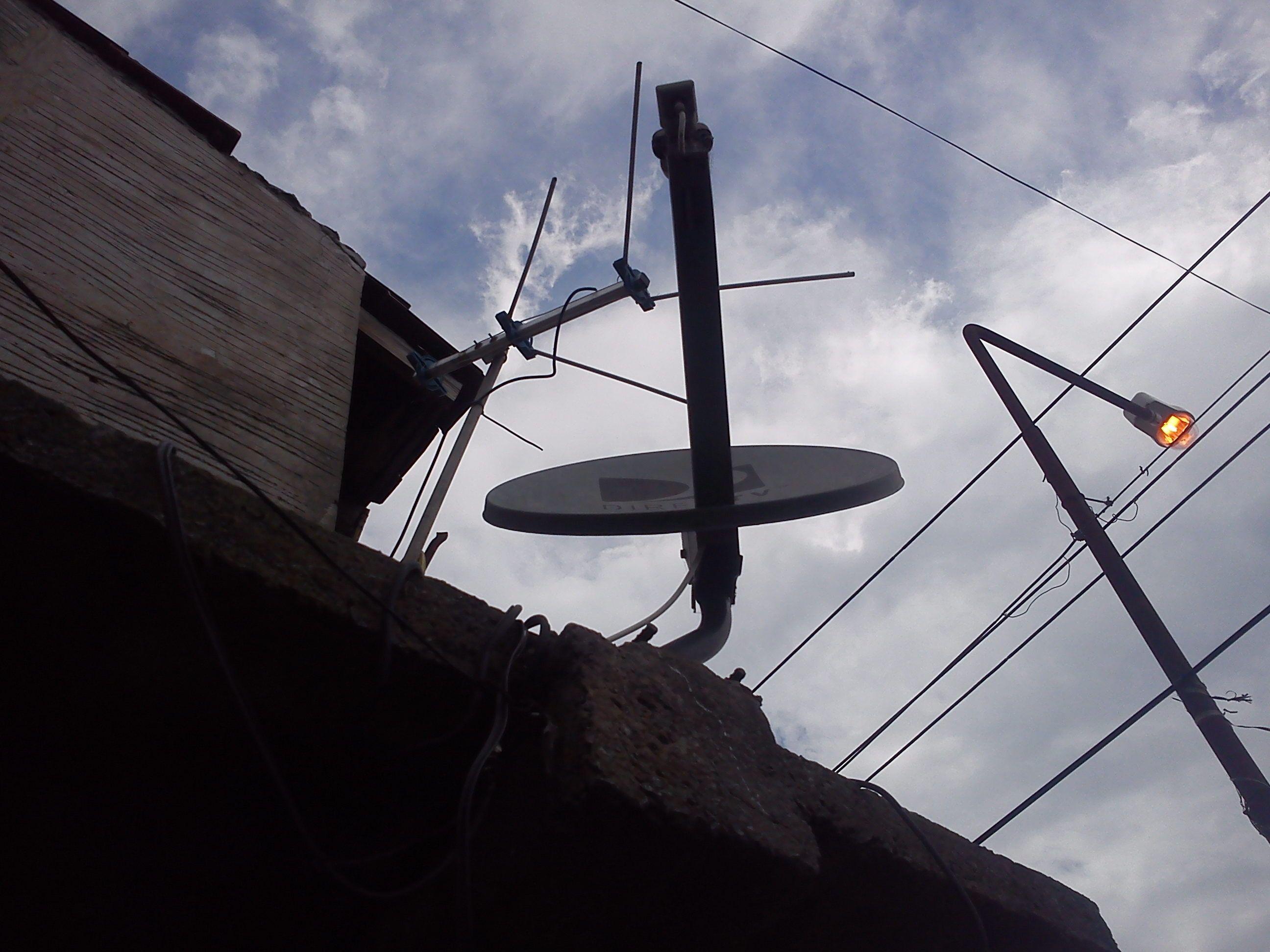 Instalacion Paso A Paso Television Satelital Gratis Utility Pole Diy