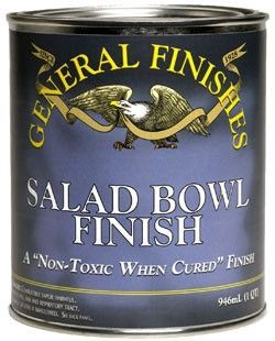 General Finishes Salad Bowl Finish Wooden Countertops Kitchen