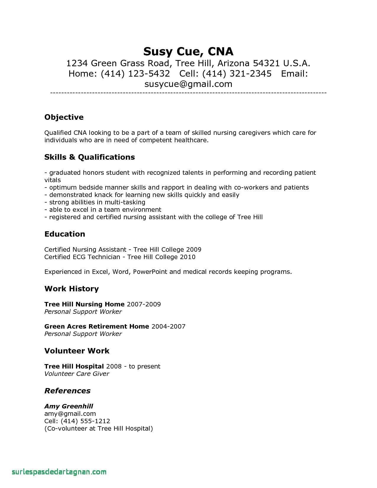 78 New Photos Of Sample Resume for Registered Nurse