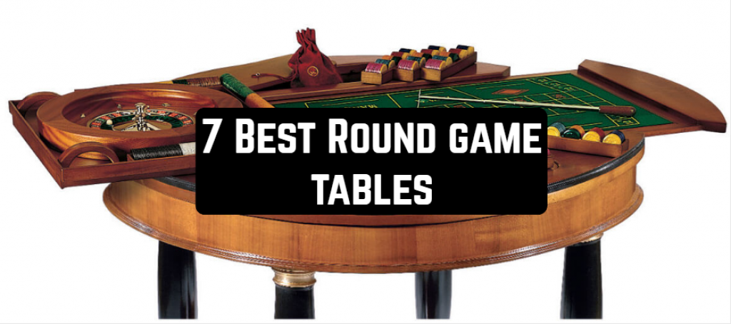 7 Best Round Game Tables Table Games Board Game Table Table
