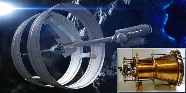 Raumschiff Antrieb