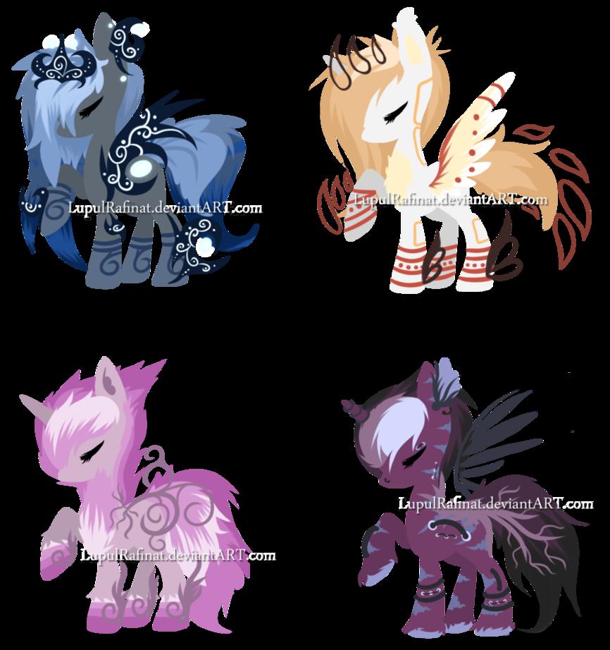 Pony Adopt 6 - CLOSED by LupulRafinat on DeviantArt