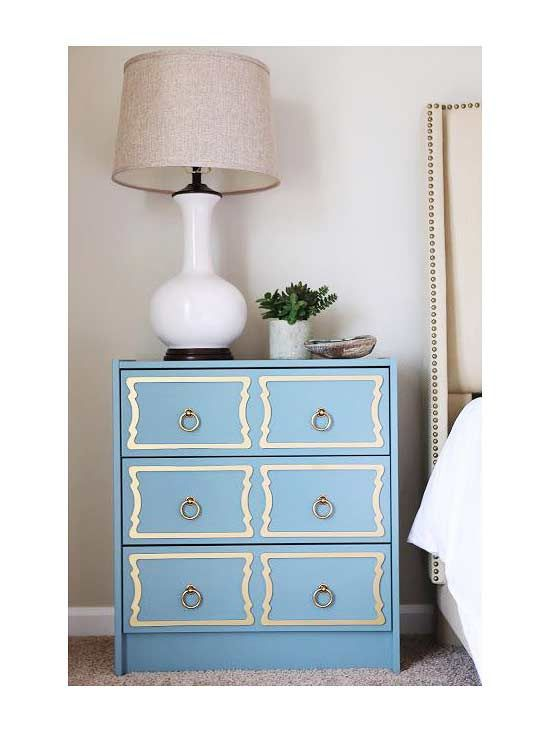 Make a DIY nightstand to add a unique touch to your bedroom. Repurpose used items and add a little bit of paint and cheap DIY to turn it into a brand new nightstand with plenty of drawers and storage to declutter your room.