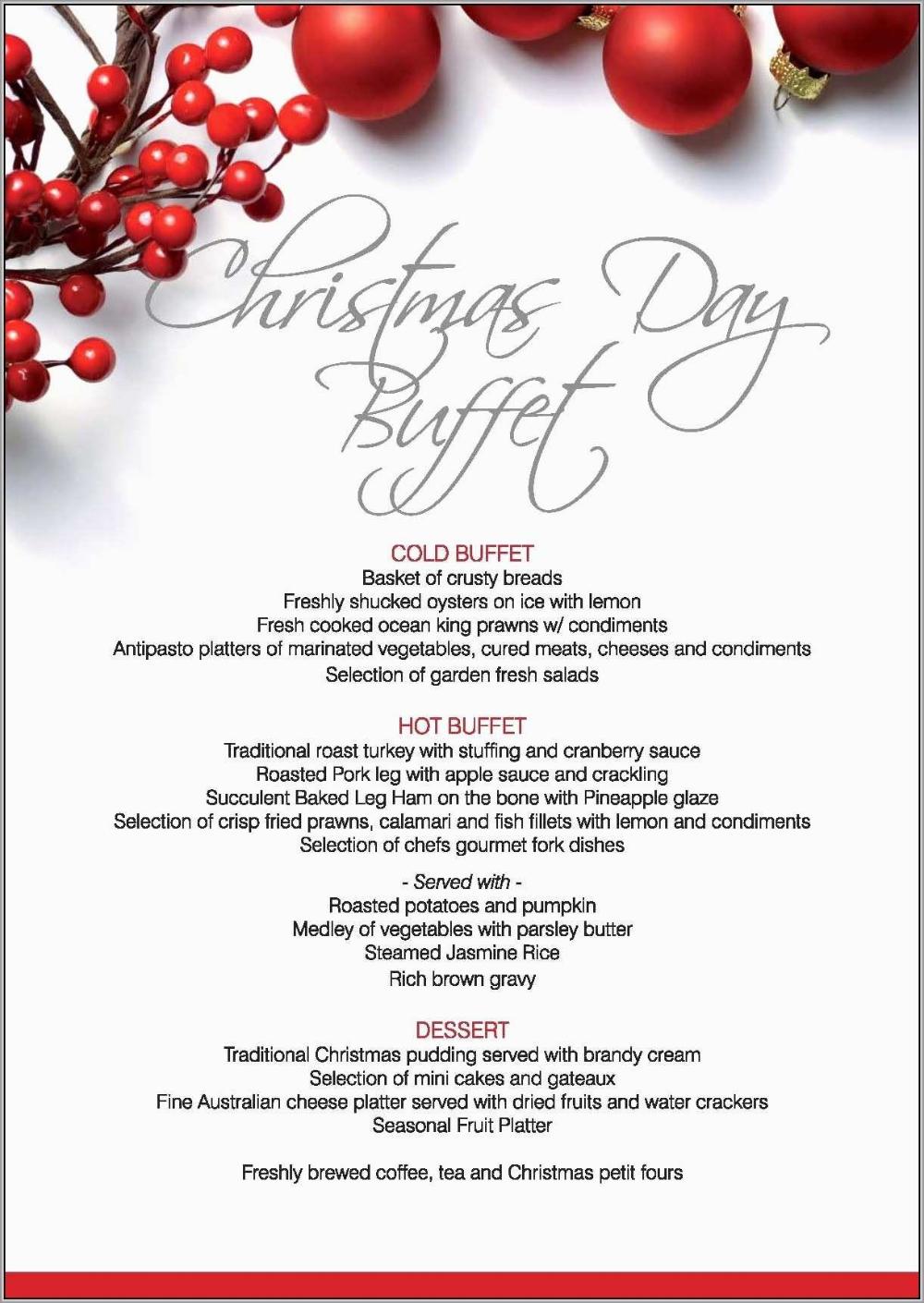 Awesome Free Printable Holiday Menu Template Best Of Template Within Christmas Day Menu Template 10 Profes Menu Template Christmas Dinner Menu Holiday Menus