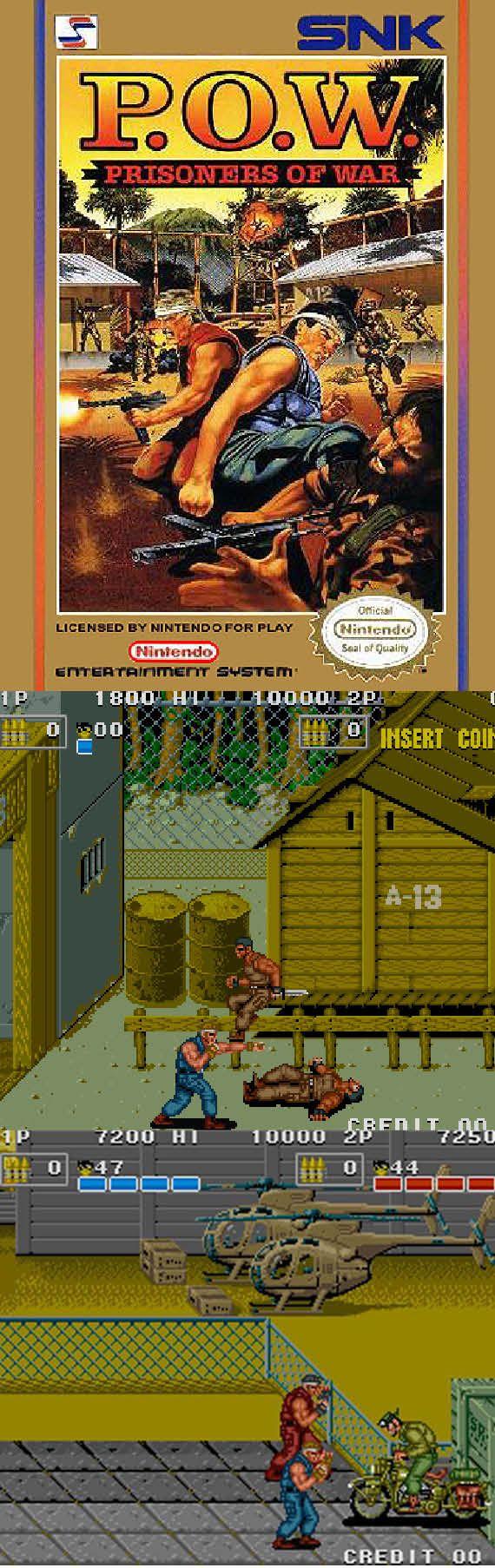 Retro Gamer The 1988 arcade classic Prisoners of War is