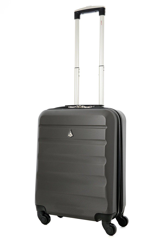 Aerolite Hard Shell Wheel Spinner Super Lightweight Hand Luggage ...