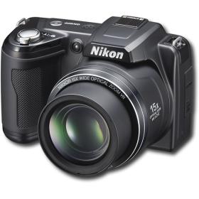 Nikon - Coolpix 12.1-Megapixel Digital Camera - Black L110   Nikon coolpix l110. Hd digital camera. Digital camera