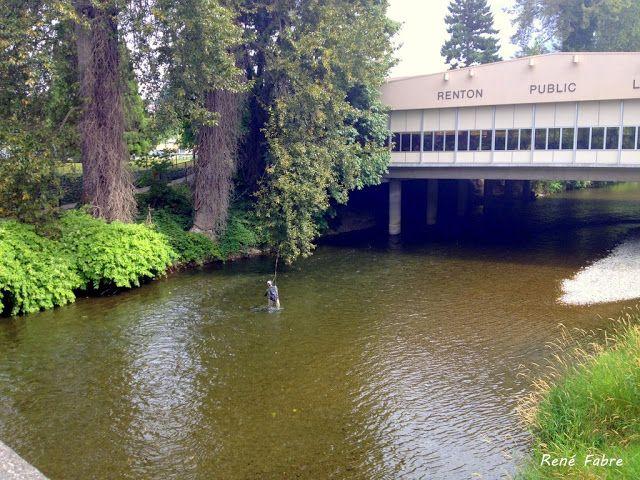 Renton Public Library Over The Cedar River Renton Wa 98057