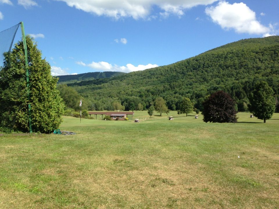 27 hole golf course, with amazing views of the Catskill Mountains!
