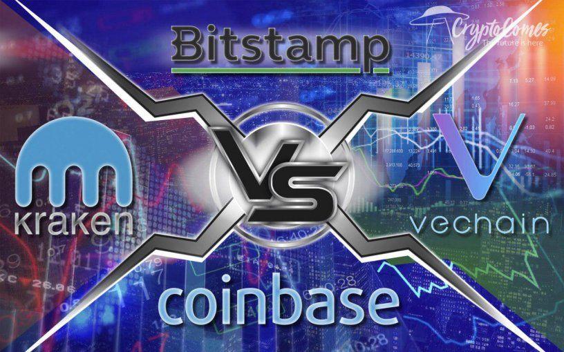 Bitstamp vs. Kraken vs. Coinbase Choose the Best Crypto