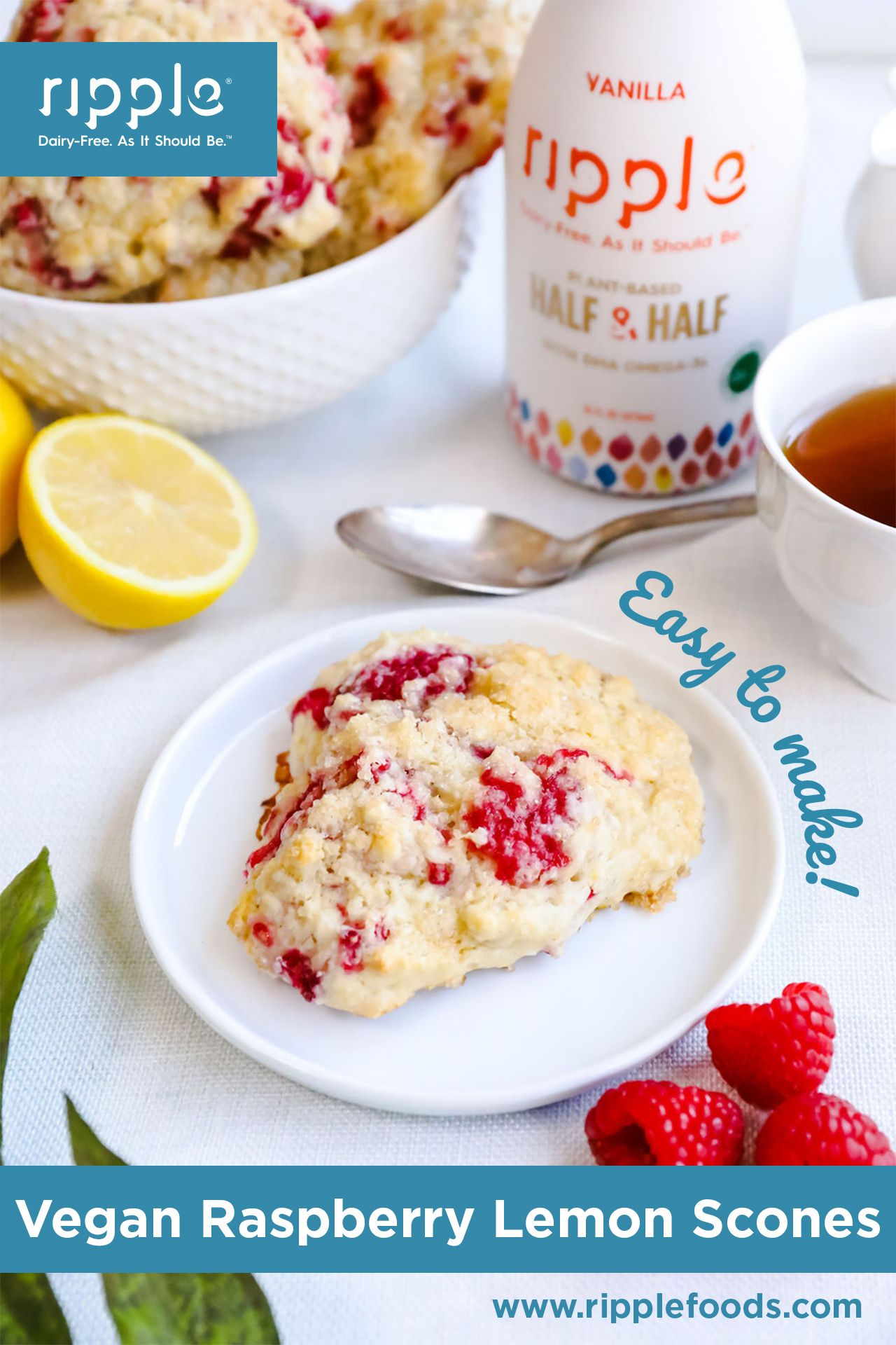 Ripple Dairy Free Half Half Is Perfect For Cooking Baking Or