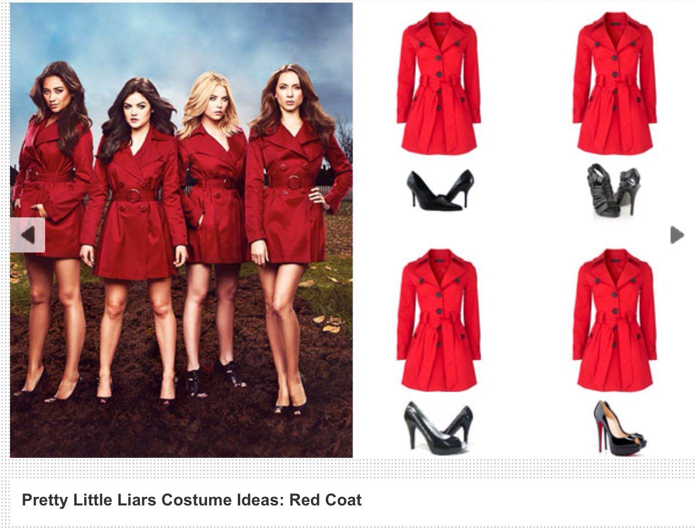 Red Coat Costume  Carnaval kostuums, Kostuum, Carnaval