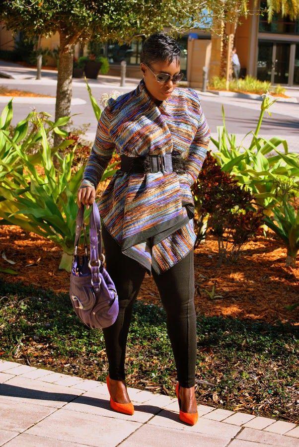 Fashionably Fabulous: DIY Luxe Wrap Cardigan