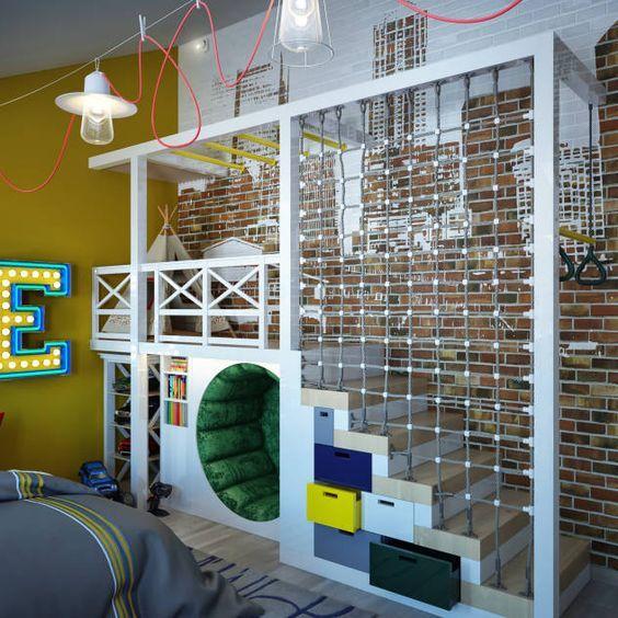 Dormitorios infantiles de estilo moderno de sweet home - Sweet home muebles ...