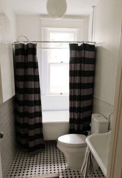 New Apartment Therapy Rental Bathroom Shower Curtains ...