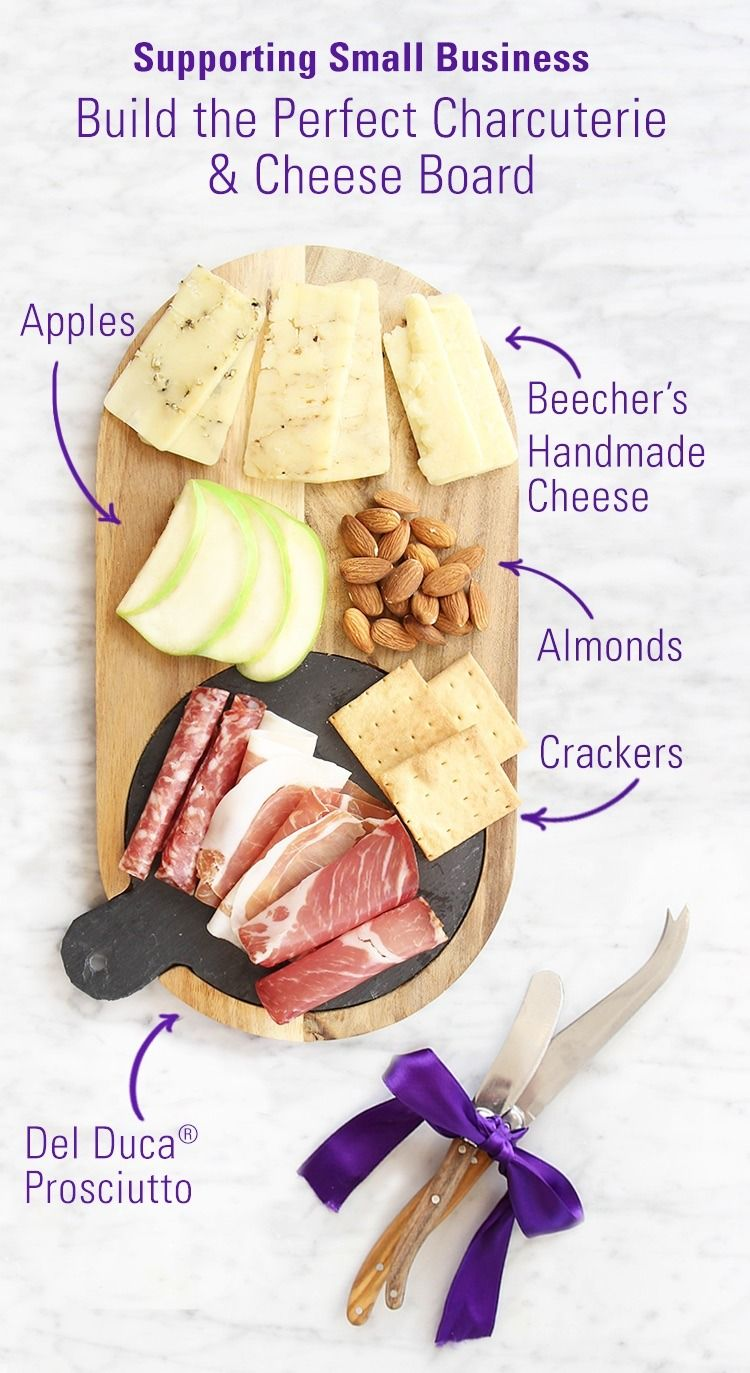 Your homemade charcuterie board just got a little tastier! A flavor delivery of Del Duca Prosciutto, Beecher's No Woman, Flagship and Marco Polo handmade ...