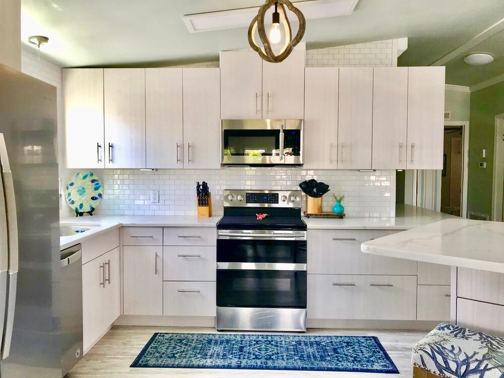 1988 fuqua double wide remodel is a tropical paradise