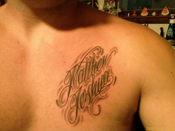 For Example There Are Tattoos Where The Person Has Got Several Names Tattooed