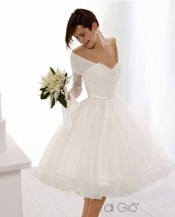 263709622c Little White Wedding Dresses from Spose di Gio