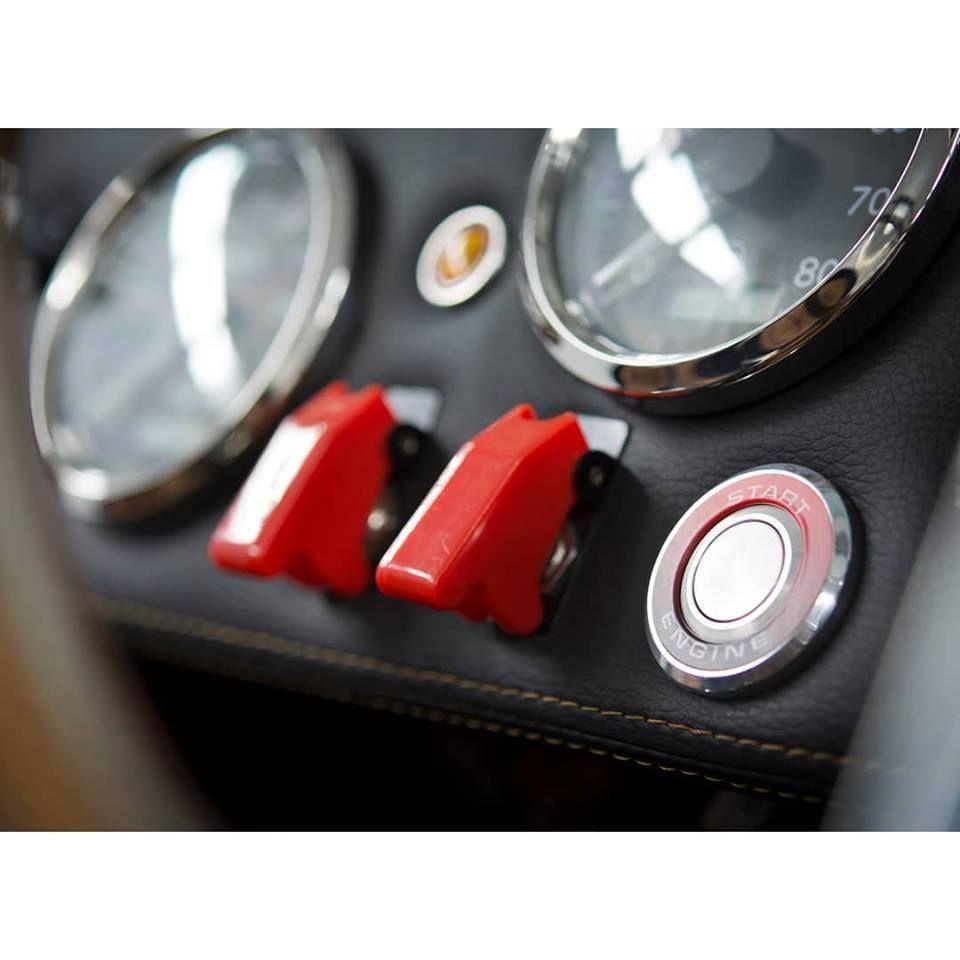 Backdraft Cobra with Vintage Motorsports Start Button | My