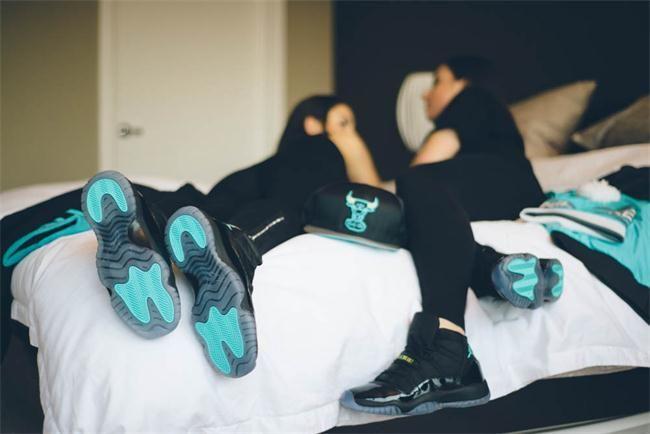 outlet store 9fb2a bd487 Women Jordan 11 Gamma On Feet | Roll | Nike shoes, Shoes ...