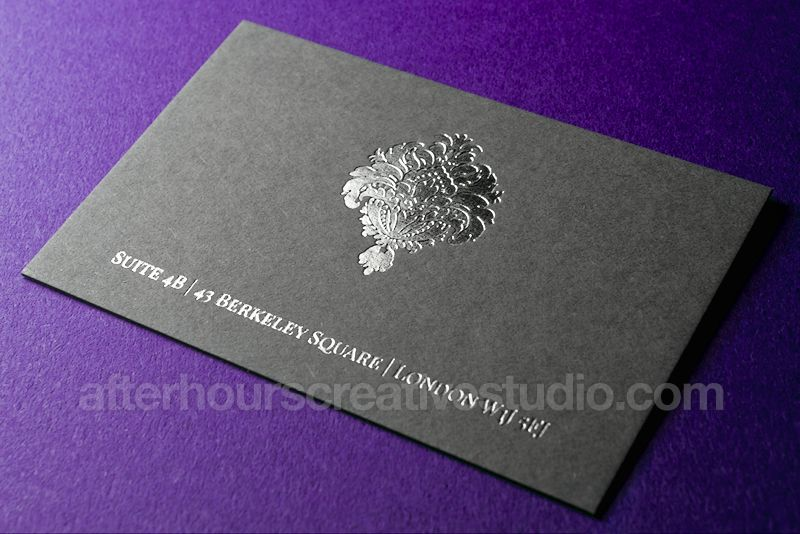 Luxury business cards quality printing foil stamping luxury business cards quality printing foil stamping letterpress reheart Gallery