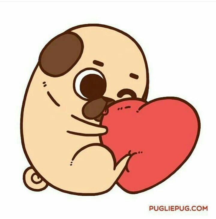 Resultado de imagen para puglie pug pug pinterest for Protectores animados