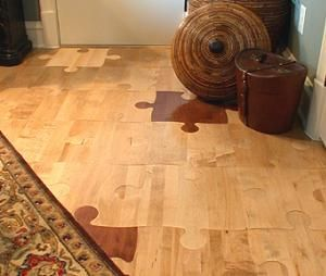 Puzzle Piece Flooring Domesticities Flooring Home Game Room