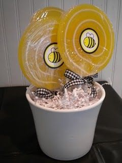 Bumble Bee Party Centerpieces