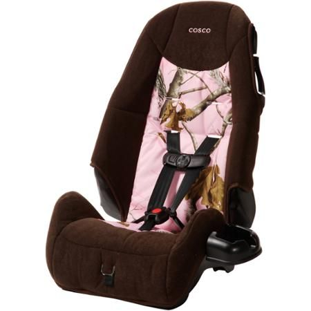Cosco Highback Booster Car Seat Realtree Pink