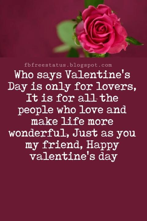 valentines day messages for friends with images  happy