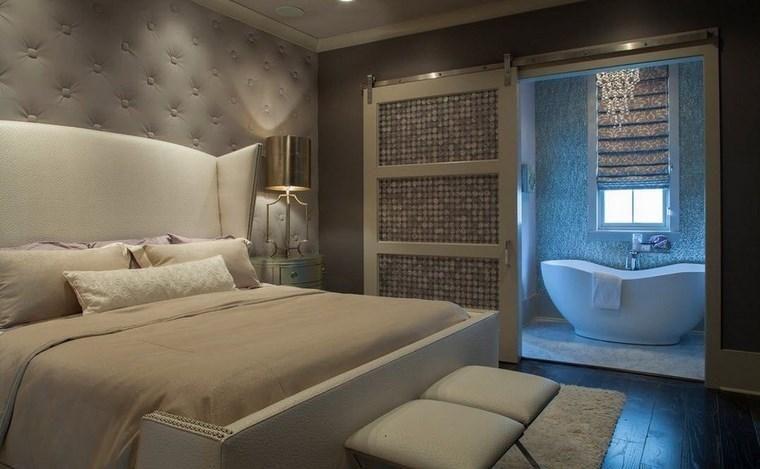 Schlafzimmer Mit Ankleide Und Badezimmer 50 Design Optionen Decoracion De Interiores Dormitorios Matrimoniales Dormitorios Dormitorios Modernos