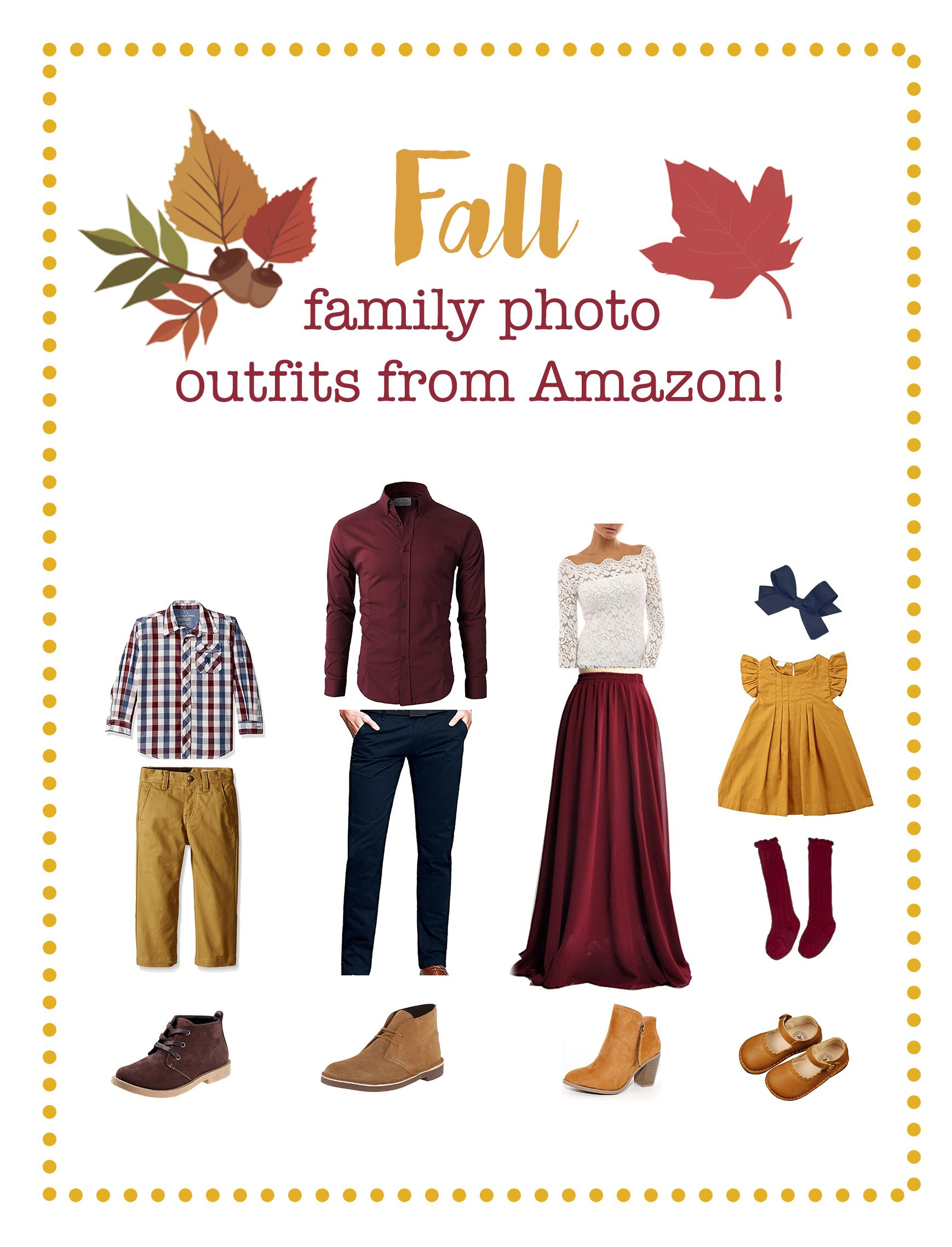 Fall family photo outfits, fall family picture outfits, what to