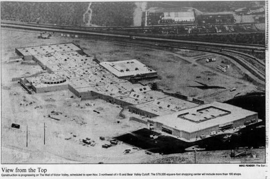 The Mall Of Victor Valley California History San Bernardino County Victorville
