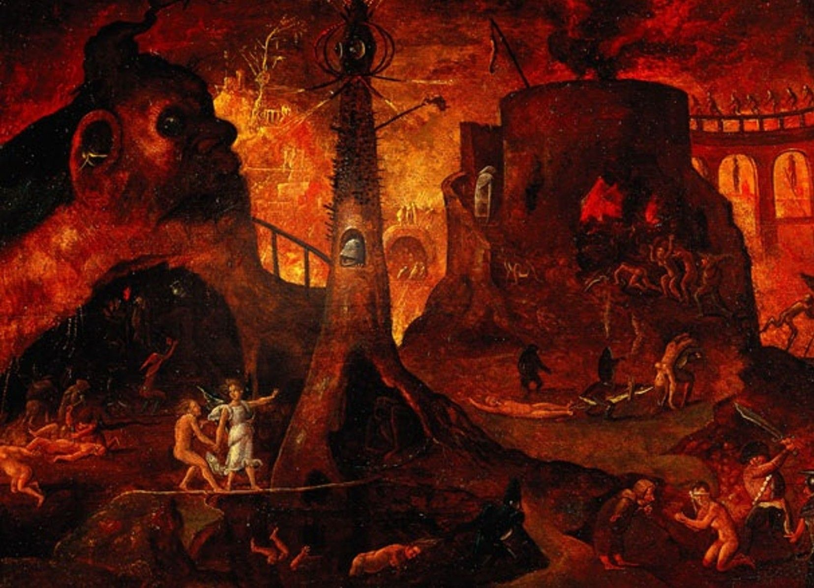Medieval Art Hell classic+paintings+of+h...