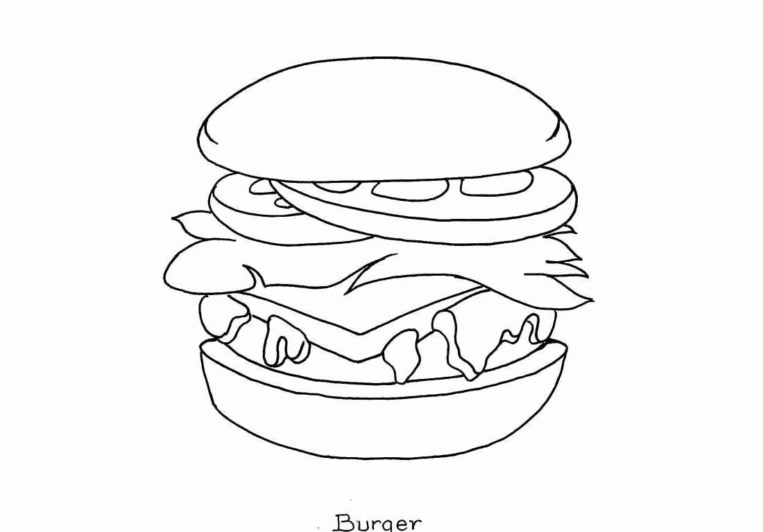 Chicken Nuggets Coloring Page Inspirational Cute Foods Coloring Pages Gambar