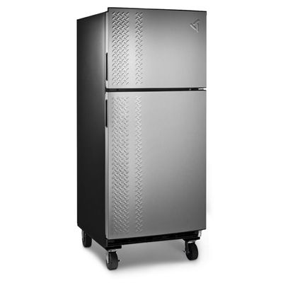 Gladiator 19 Cu Ft Top Freezer Chillerator Garage Refrigerator (Black)
