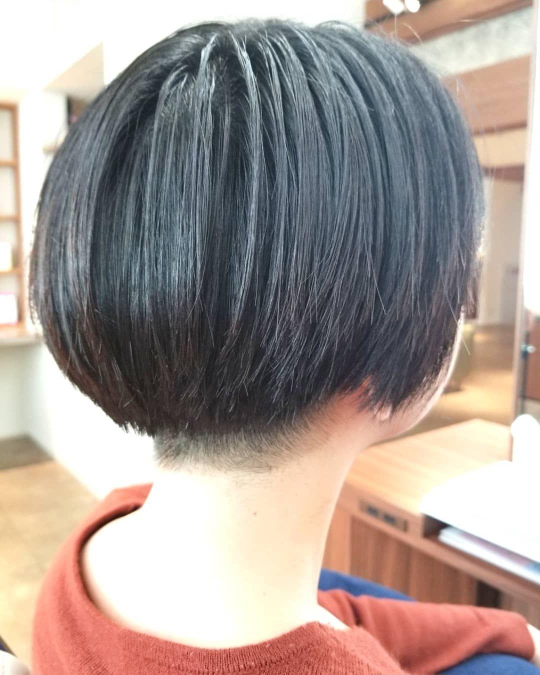 Bob おしゃれまとめの人気アイデア Pinterest Hiro 刈り上げ女子 子供髪型 女の子 モード ヘア