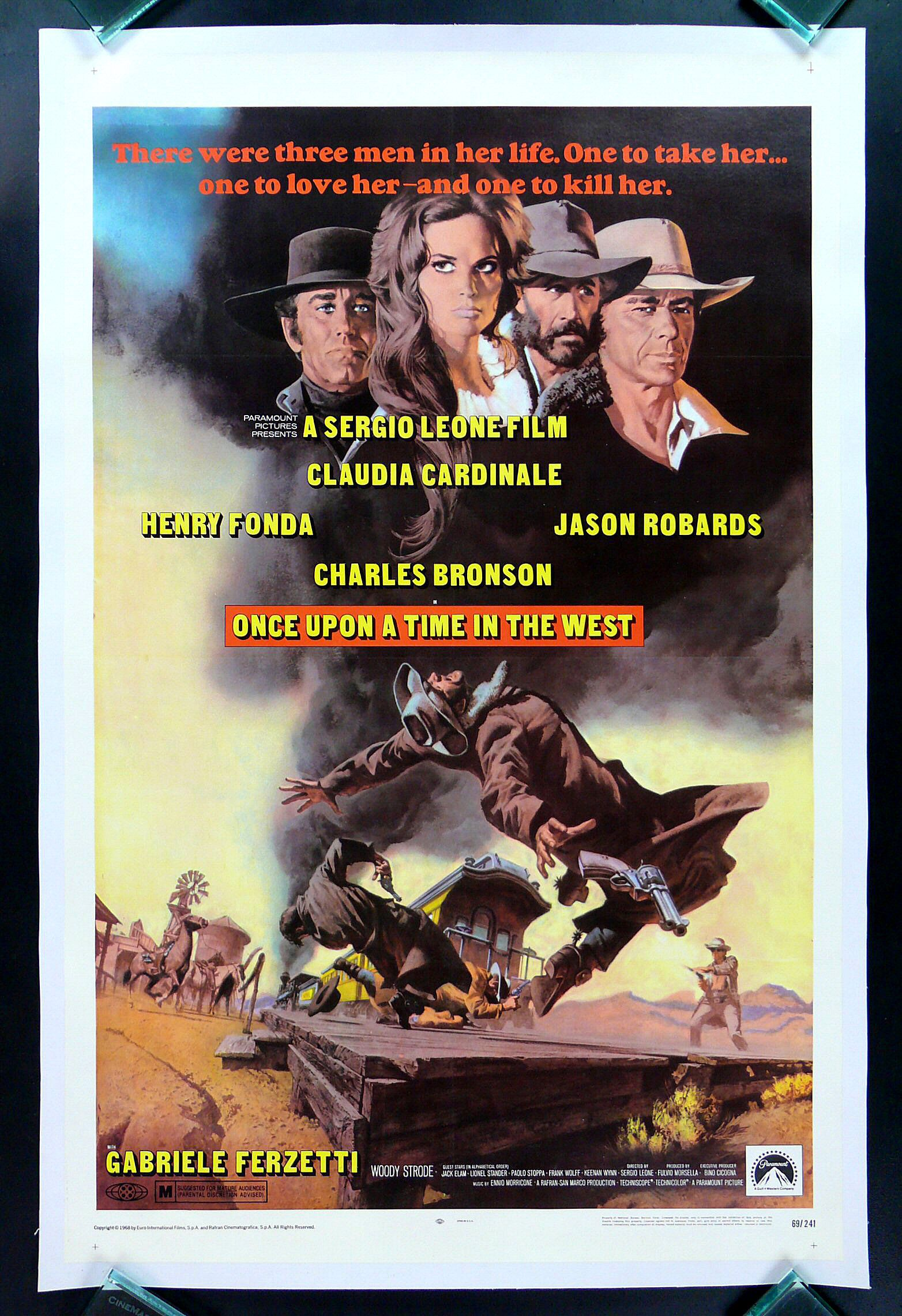 Once Upon a Time in the West (One Sheet)