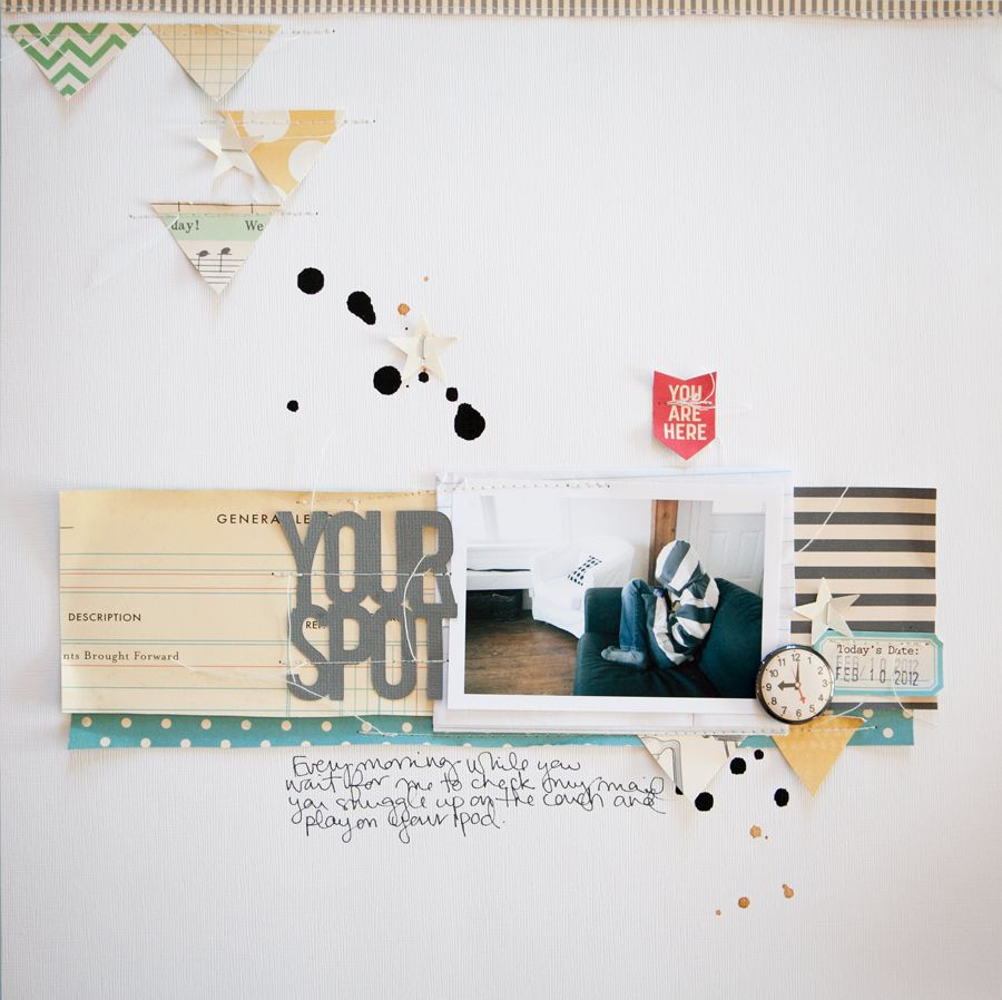 #scrapbook #layout  Marcy Penner