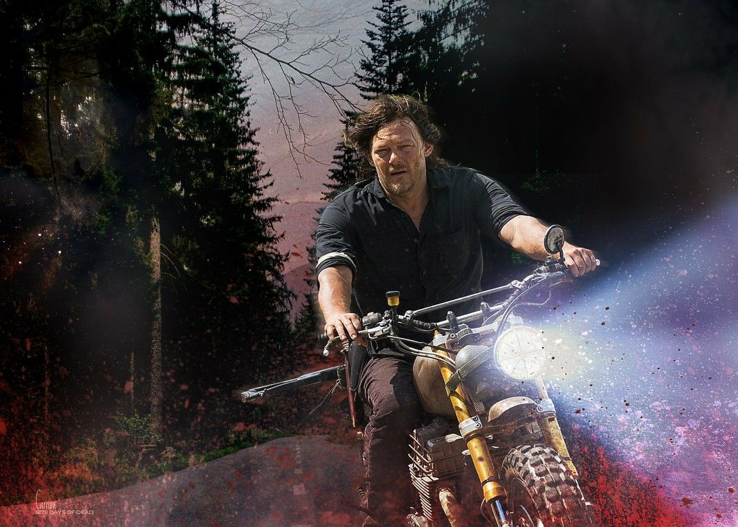 Daryl Dixon by Carrion