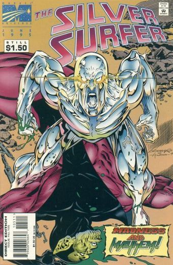 Featured Characters: Silver Surfer (Norrin Radd) Supporting Characters: Skrulls Empress S'Byll...