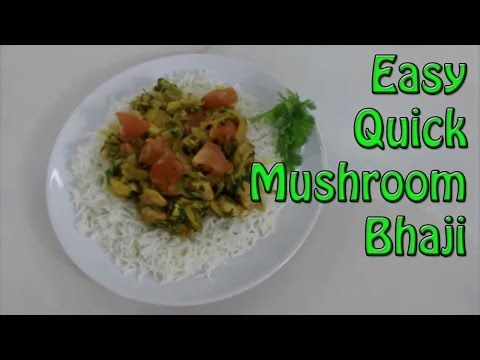 Mushroom bhaji indian food recipe healthier food drinks mushroom bhaji indian food recipe forumfinder