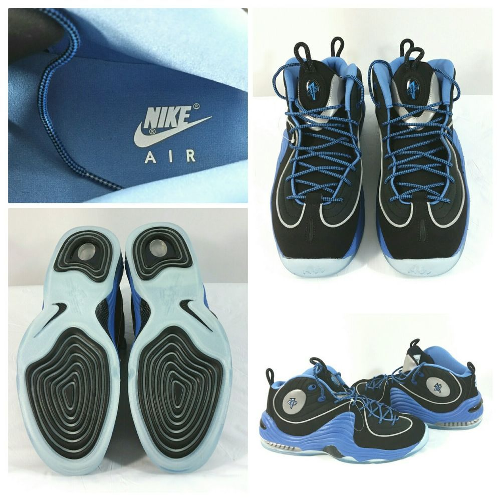 sneakers for cheap 43edc 6a262 Nike Air Penny 2 II Sneakers Blue Black 333886 - 005 Men s Size 10.5 NWOB