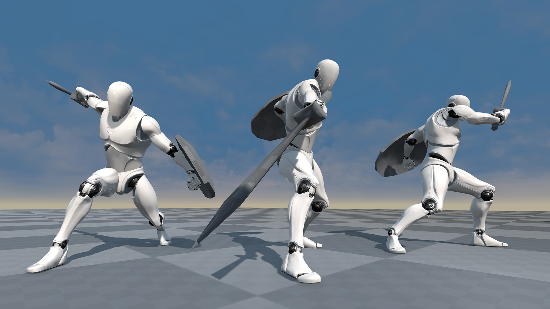 Dynamic Sword Animset by Blueisland A in Animations - UE4